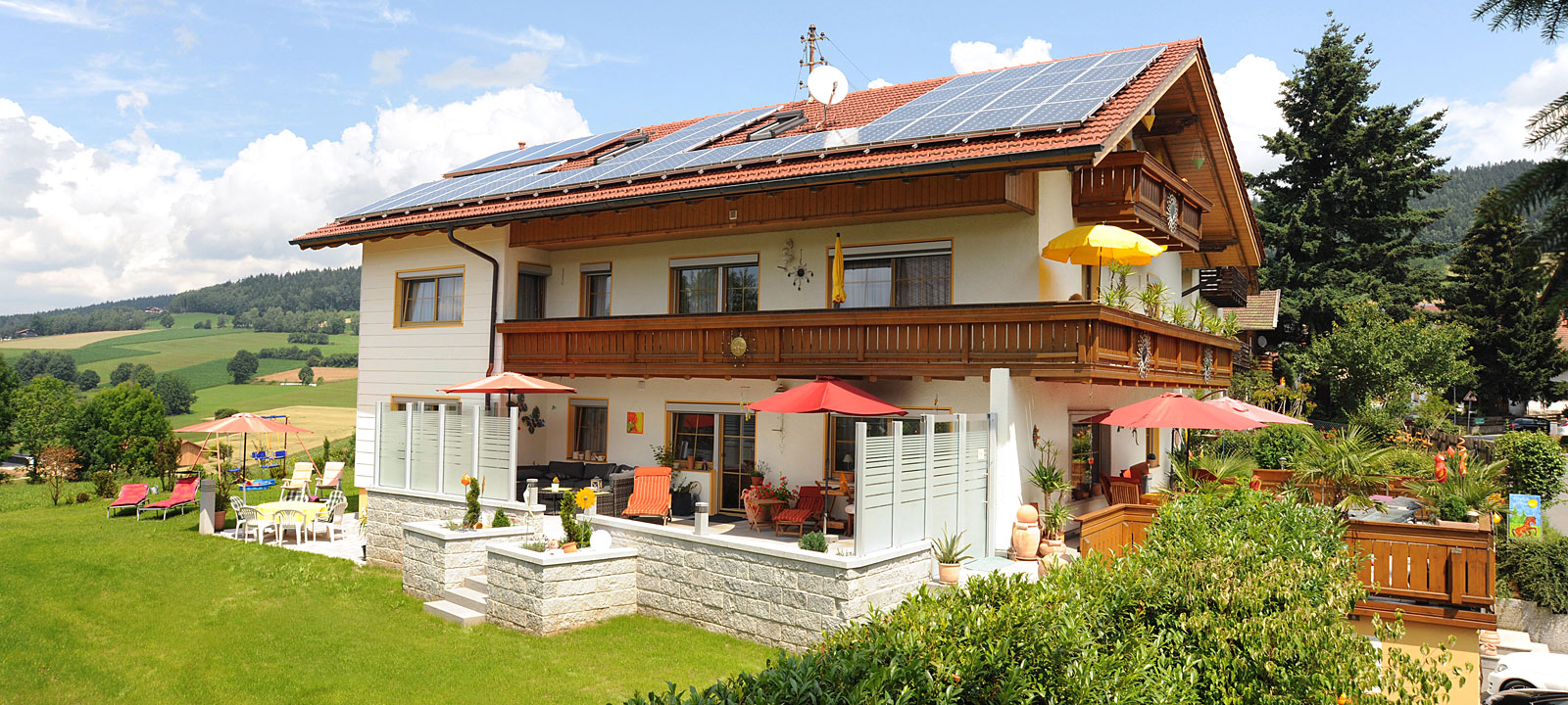 ferienhaus r sslwirt im bayerischen wald g stezimmer und. Black Bedroom Furniture Sets. Home Design Ideas